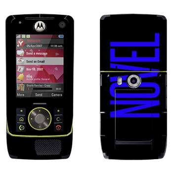 Виниловая наклейка «Novel» на телефон Motorola Z8 Rizr