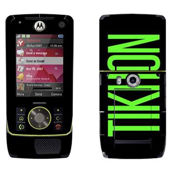 Виниловая наклейка «Tikhon» на телефон Motorola Z8 Rizr