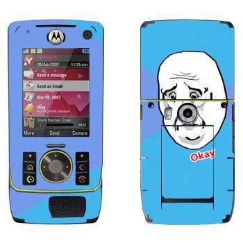 Виниловая наклейка «Okay Guy» на телефон Motorola Z8 Rizr