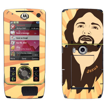 Виниловая наклейка «Голова Иисуса» на телефон Motorola Z8 Rizr