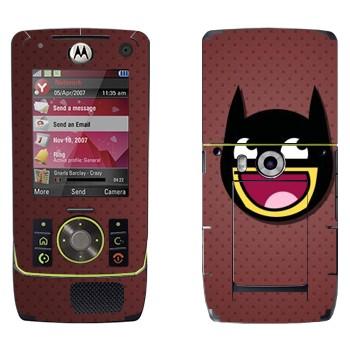 Виниловая наклейка «Восторженно-дебильный Бэтмэн» на телефон Motorola Z8 Rizr