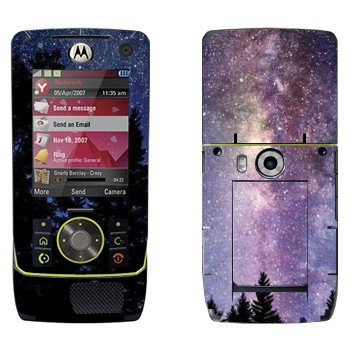 Виниловая наклейка «Млечный Путь - вид с Земли» на телефон Motorola Z8 Rizr