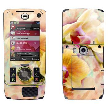 Виниловая наклейка «Орхидея» на телефон Motorola Z8 Rizr