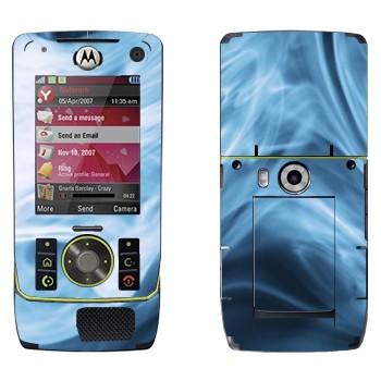 Виниловая наклейка «Синий дым» на телефон Motorola Z8 Rizr
