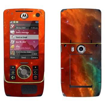 Виниловая наклейка «Туманность» на телефон Motorola Z8 Rizr