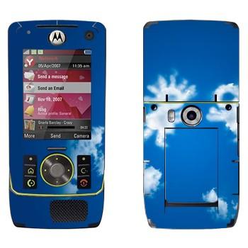 Виниловая наклейка «Влюбленные облачные человечки» на телефон Motorola Z8 Rizr