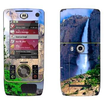 Виниловая наклейка «Водопад» на телефон Motorola Z8 Rizr