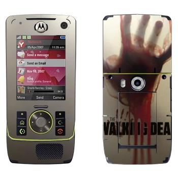 Виниловая наклейка «Dead Inside - Ходячие мертвецы» на телефон Motorola Z8 Rizr