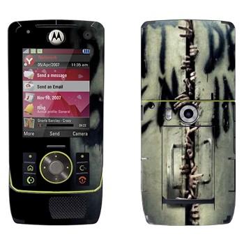Виниловая наклейка «Don't open, dead inside - Ходячие мертвецы» на телефон Motorola Z8 Rizr