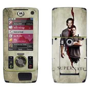 Виниловая наклейка «Братья Сэм и Дин Винчестеры» на телефон Motorola Z8 Rizr