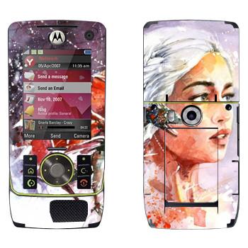 Виниловая наклейка «Дейенерис» на телефон Motorola Z8 Rizr