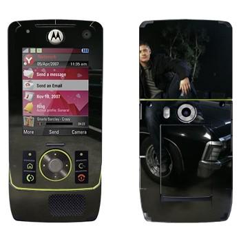 Виниловая наклейка «Дин Винчестер - Сверхъестественное» на телефон Motorola Z8 Rizr