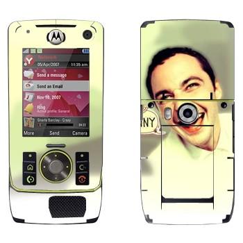 Виниловая наклейка «Доктор Шелдон Ли Купер» на телефон Motorola Z8 Rizr