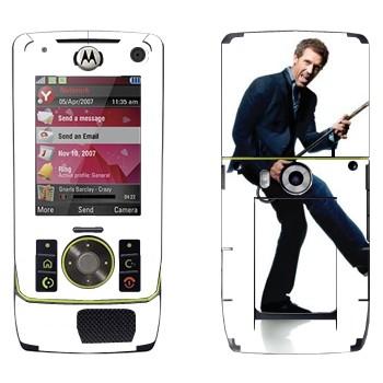 Виниловая наклейка «Грегори Хаус - Доктор Хаус» на телефон Motorola Z8 Rizr