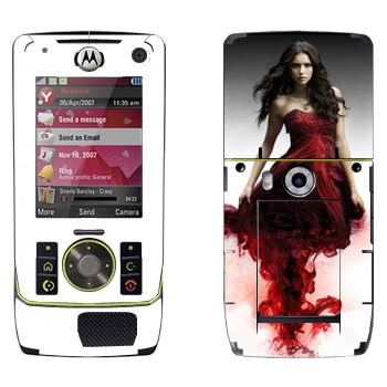 Виниловая наклейка «Кэтрин Пирс» на телефон Motorola Z8 Rizr