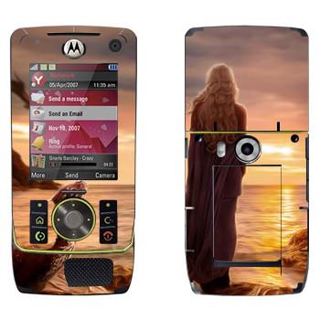 Виниловая наклейка «Королева Дейенерис» на телефон Motorola Z8 Rizr