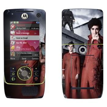 Виниловая наклейка «Отбросы 2-й сезон» на телефон Motorola Z8 Rizr