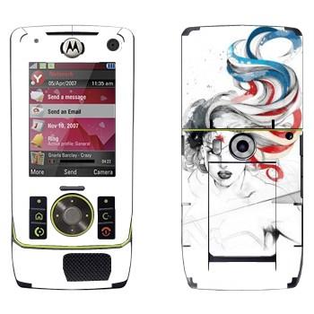 Виниловая наклейка «Чудо-Женщина» на телефон Motorola Z8 Rizr
