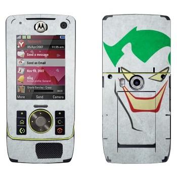 Виниловая наклейка «Джокер рисованный - Бэтмен» на телефон Motorola Z8 Rizr