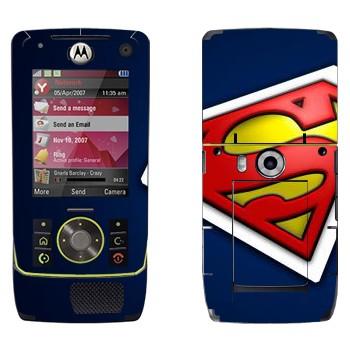 Виниловая наклейка «Супермэн» на телефон Motorola Z8 Rizr