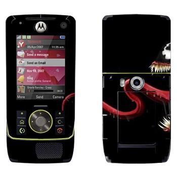 Виниловая наклейка «Веном - Человек-Паук» на телефон Motorola Z8 Rizr