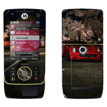 Виниловая наклейка «Красная Ferrari» на телефон Motorola Z8 Rizr