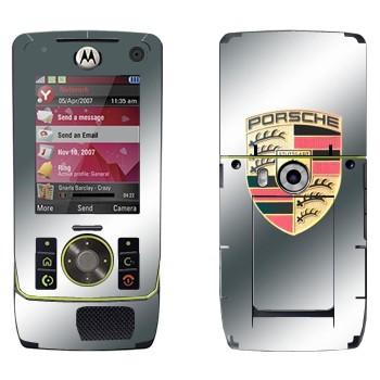 Виниловая наклейка «Логотип Порше» на телефон Motorola Z8 Rizr