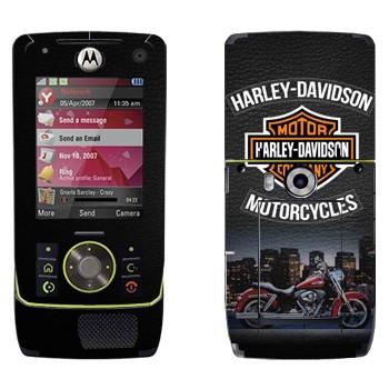 Виниловая наклейка «Мотоциклы Харлей-Дэвидсон» на телефон Motorola Z8 Rizr