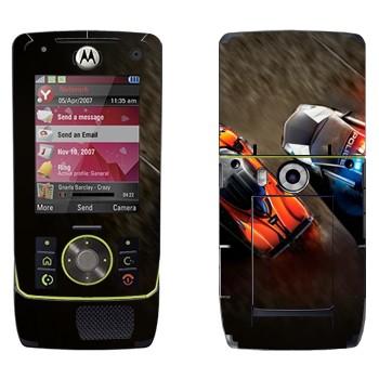 Виниловая наклейка «Погоня полиция спорткары» на телефон Motorola Z8 Rizr