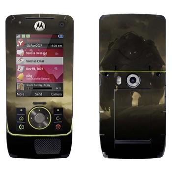 Виниловая наклейка «Робот в сумраке» на телефон Motorola Z8 Rizr