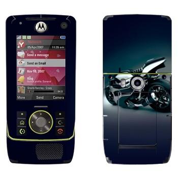Виниловая наклейка «Супер байк прототип» на телефон Motorola Z8 Rizr