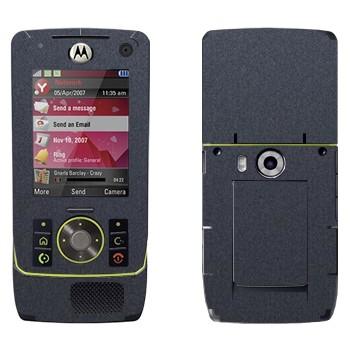 Виниловая наклейка «Деним темно-серый» на телефон Motorola Z8 Rizr