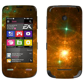 Виниловая наклейка «Звездная россыпь - Космос» на телефон Nokia Asha 311