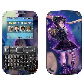 Виниловая наклейка «Annie - Дитя тьмы» на телефон Samsung C3222 Duos