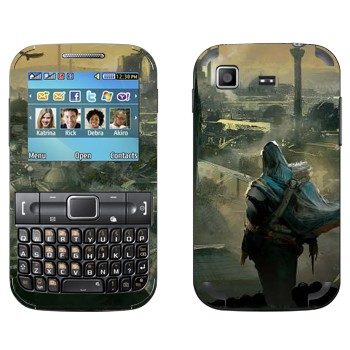 Виниловая наклейка «Assassin's Creed» на телефон Samsung C3222 Duos