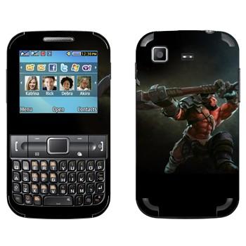 Виниловая наклейка «Axe  - Dota 2» на телефон Samsung C3222 Duos