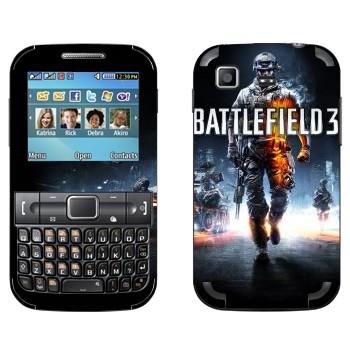 Виниловая наклейка «Battlefield 3» на телефон Samsung C3222 Duos