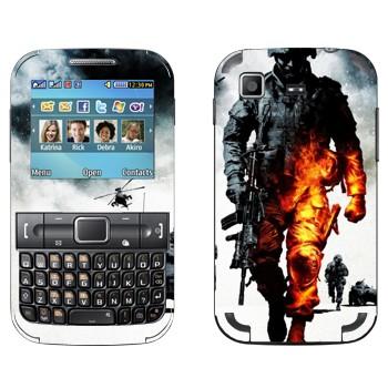 Виниловая наклейка «Battlefield: Bad Company 2» на телефон Samsung C3222 Duos