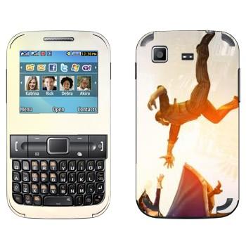 Виниловая наклейка «Bioshock» на телефон Samsung C3222 Duos