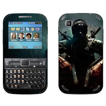 Виниловая наклейка «Call of Duty: Black Ops» на телефон Samsung C3222 Duos