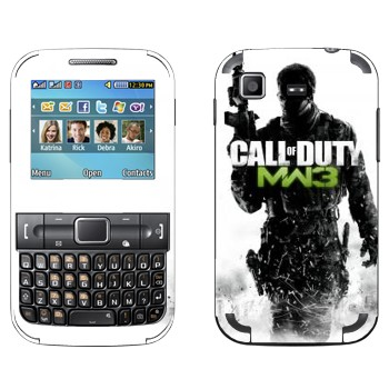 Виниловая наклейка «Call of Duty: Modern Warfare 3» на телефон Samsung C3222 Duos