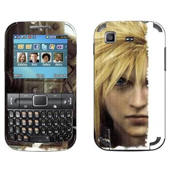 Виниловая наклейка «Cloud Strife - Final Fantasy» на телефон Samsung C3222 Duos