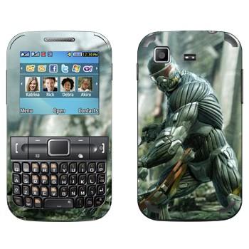 Виниловая наклейка «Crysis» на телефон Samsung C3222 Duos