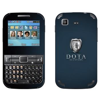Виниловая наклейка «DotA Allstars» на телефон Samsung C3222 Duos