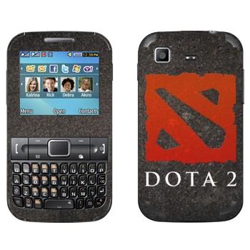 Виниловая наклейка «Dota 2  - Эмблема» на телефон Samsung C3222 Duos