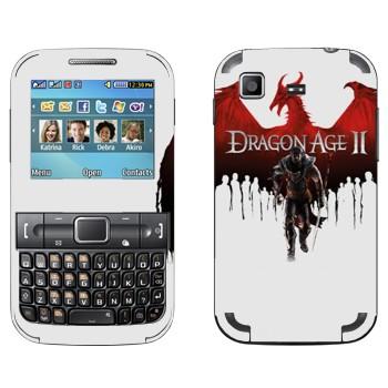 Виниловая наклейка «Dragon Age II» на телефон Samsung C3222 Duos
