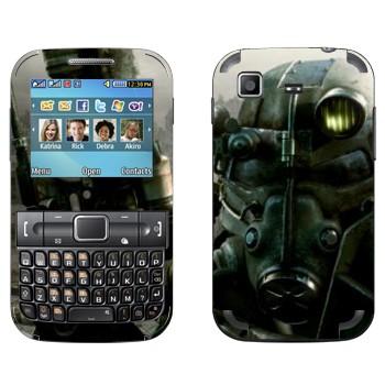 Виниловая наклейка «Fallout 3 — Убежище» на телефон Samsung C3222 Duos