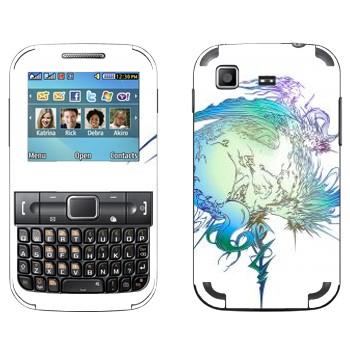 Виниловая наклейка «Final Fantasy 13 абстракция» на телефон Samsung C3222 Duos