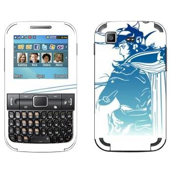 Виниловая наклейка «Final Fantasy 13 лого» на телефон Samsung C3222 Duos