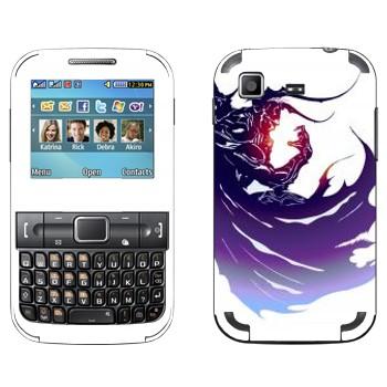 Виниловая наклейка «Final Fantasy 13 темный герой» на телефон Samsung C3222 Duos